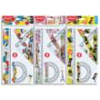 MAPED Kit de traçage 4 pièces - TATOO TEEN décors assortis Paris Fashion/Punk Rock/Comics photo du produit