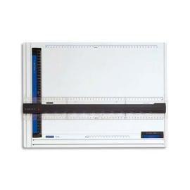 STAEDTLER Planche à dessin en plastique anti-choc avec règle ergonomique FIXMATIC format A3 photo du produit