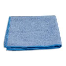 Paquet de 10 chiffons microfibre tout usage - Dimensions : 40 x 40 cm coloris Bleu photo du produit