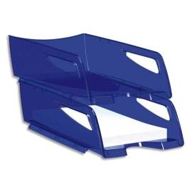 CEP Maxi corbeille à courrier Happy Bleu électrique, dimensions : L25 x H10,1 x P34 cm photo du produit