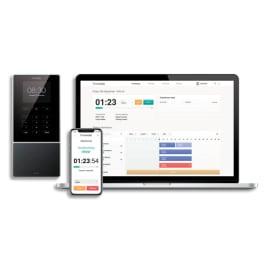 SAFESCAN Pointeuse-Badgeuse TimeMoto TM-616, 200 utilisateurs, touches bouton, écran 2,8 125-0585 photo du produit
