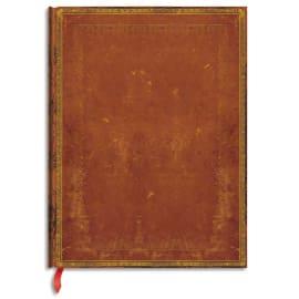 PAPERBLANKS Carnet Reliure Classique à l'Ancienne Cuir Repoussé Midi 13x18cm 144 pages lignées photo du produit