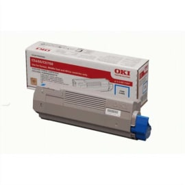 OKI Toner Cyan 43872307 photo du produit