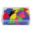 Coffret contenant 51 sets de fractions en plastique souple couleurs assorties photo du produit