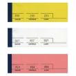 ELVE Bloc passe-partout 100 feuillets Jaune 5 x 15 cm photo du produit