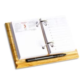 WONDAY Socle en bois arceaux métallique pour bloc éphéméride photo du produit