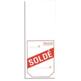 AVERY Boîte de 1000 étiquettes à cheval pré imprimées SOLDÉ. Dim: 50x125 mm. photo du produit