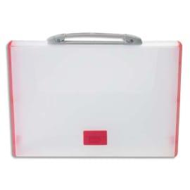 TARIFOLD Valisette Rouge polypro rigide, format 26,1x36,7x4,4 photo du produit