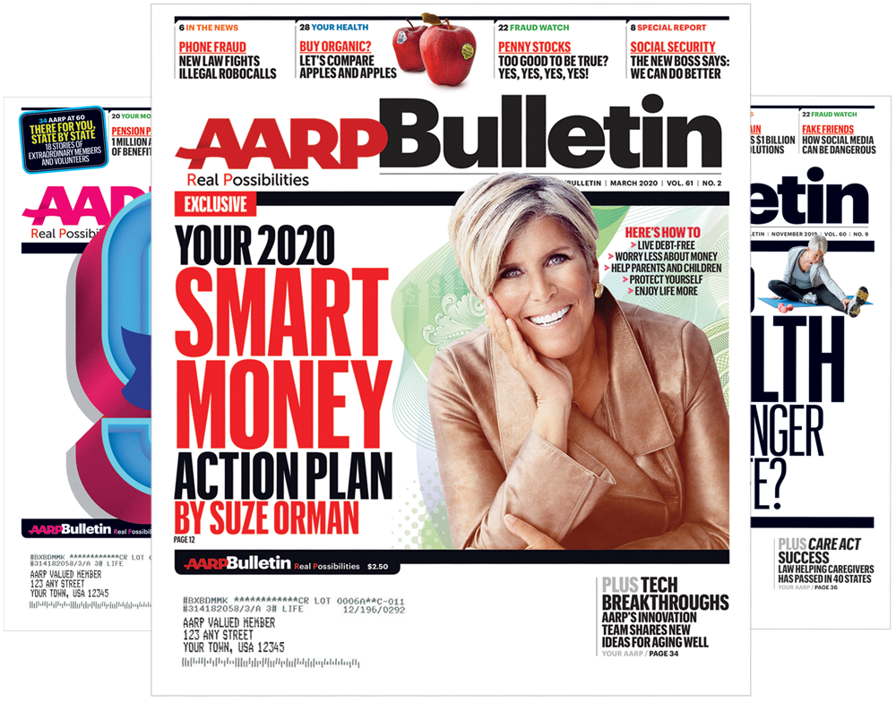 AARP Bulletin | Rates & Dates
