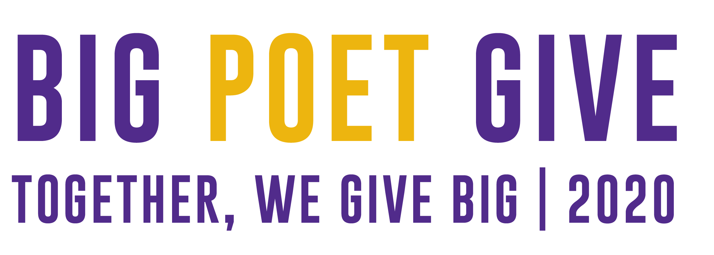 Big Poet Give Banner