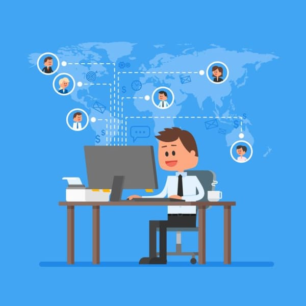 Manage relationships remotely