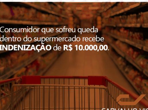 CONSUMIDOR RECEBE INDENIZAÇÃO DE R$ 10.000,00