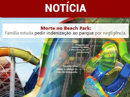 Morte no Beach Park: Família estuda pedir indenização