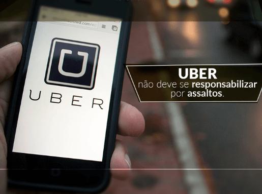 Uber não deve se responsabilizar por assaltos