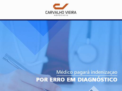 Médico pagará indenização por erro em diagnóstico