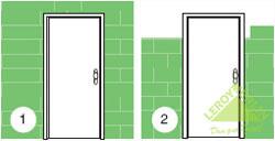 Установить двери своими руками