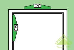 Как установить дверь межкомнатную