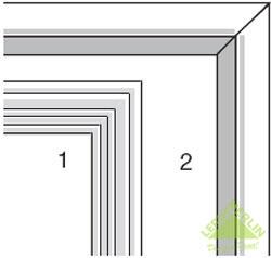 Завершающая отделка межкомнатных дверей