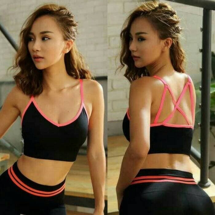 jual Bra sport olahraga   gym fitness senam tali silang