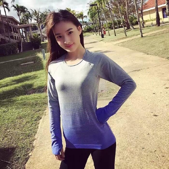 jual Kaos Sport T-shirt Baju Lengan Panjang Olahraga Gym Fitness