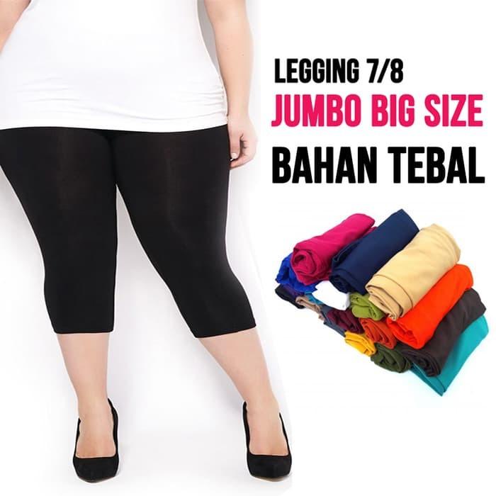 jual celana legging   7/8 JUMBO /   SIZE