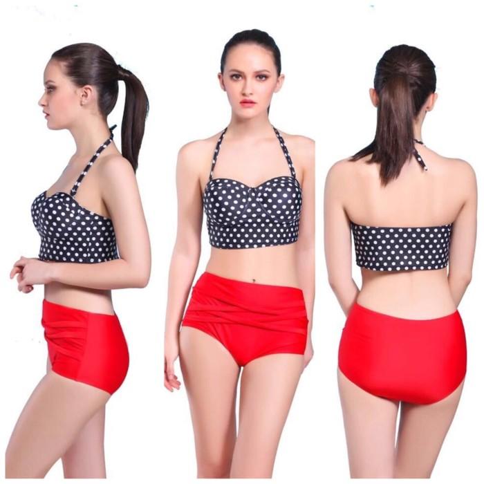 jual Bikini Tribal Monokini Swimsuit Swimwear Celana     Bra Busa BH