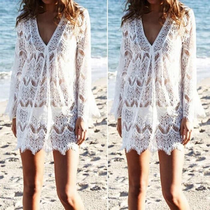 jual Bikini Outer Luaran Pantai SERENITY BEACH TOP Bra Kamisol Murah Blouse