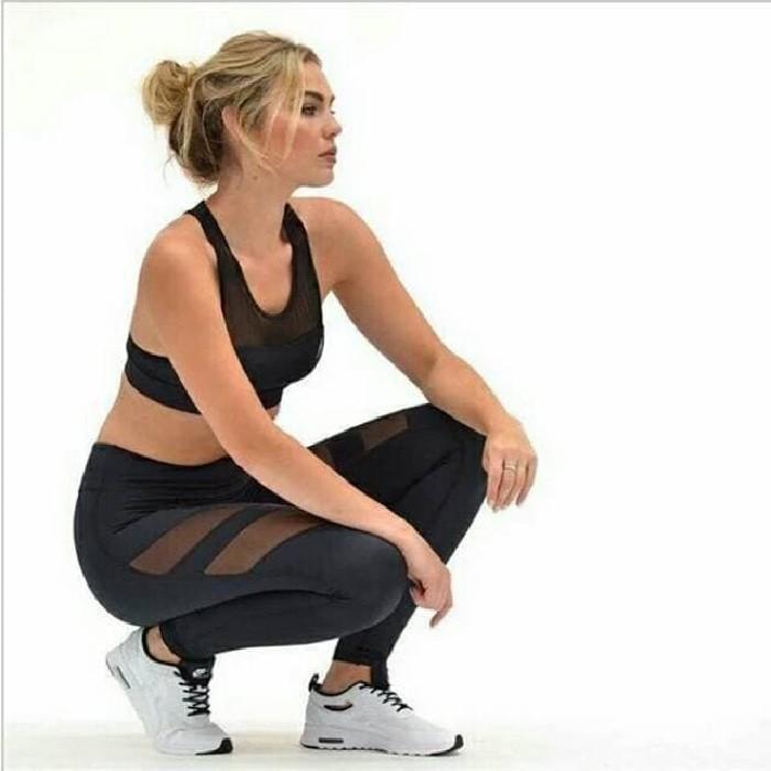 jual Celana Legging Sport Fashion   Premium Sport Bra Kemben Gym Bra