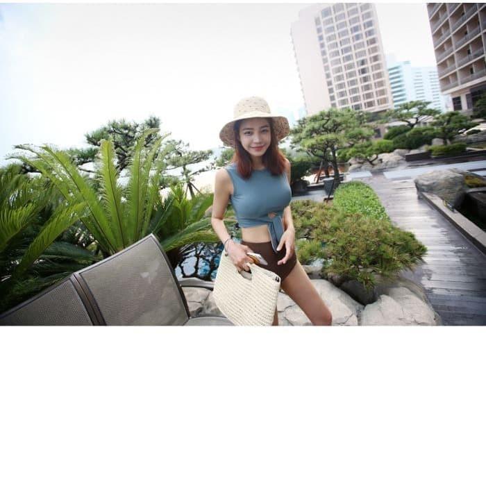jual Bikini Set Korea Baju Renang   Celana     Murah Bra Busa