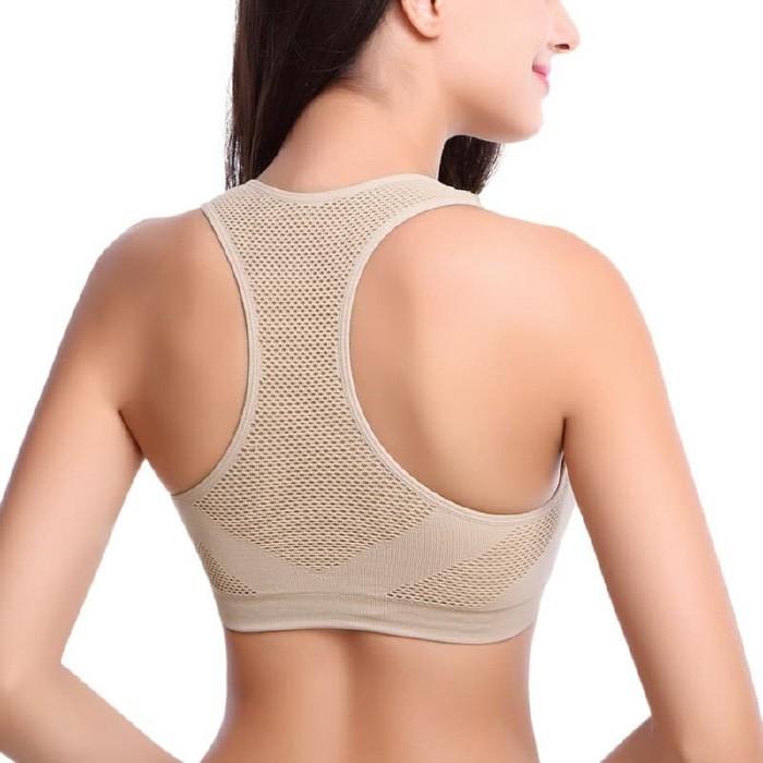 jual Oxygen Sport Bra Gym Fitness Yoga Baju Senam Murah Premium Padded Bra