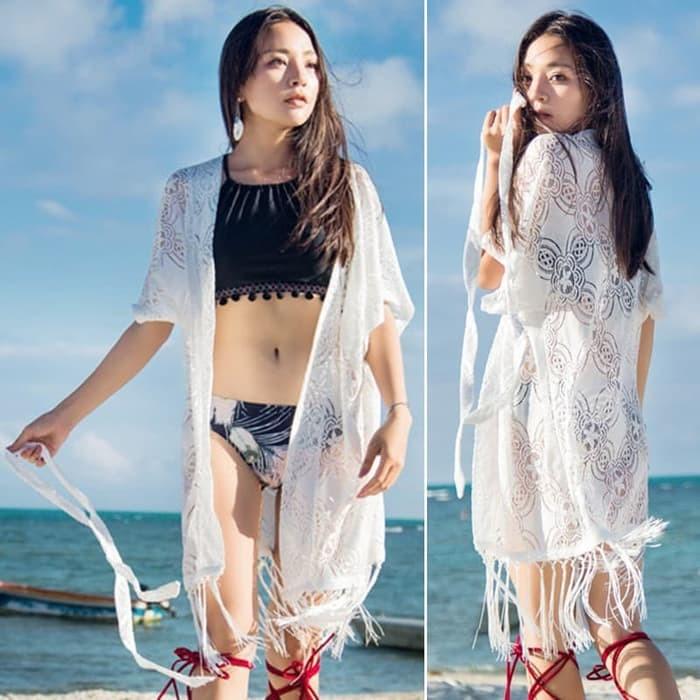 jual bikini outer / kimono / dress pantai luaran bikini     bra