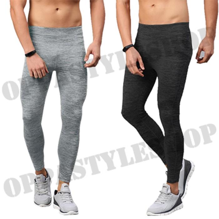 Jual Basic Legging Pria Celana Legging Panjang Training Sport Premium Aeroxstore