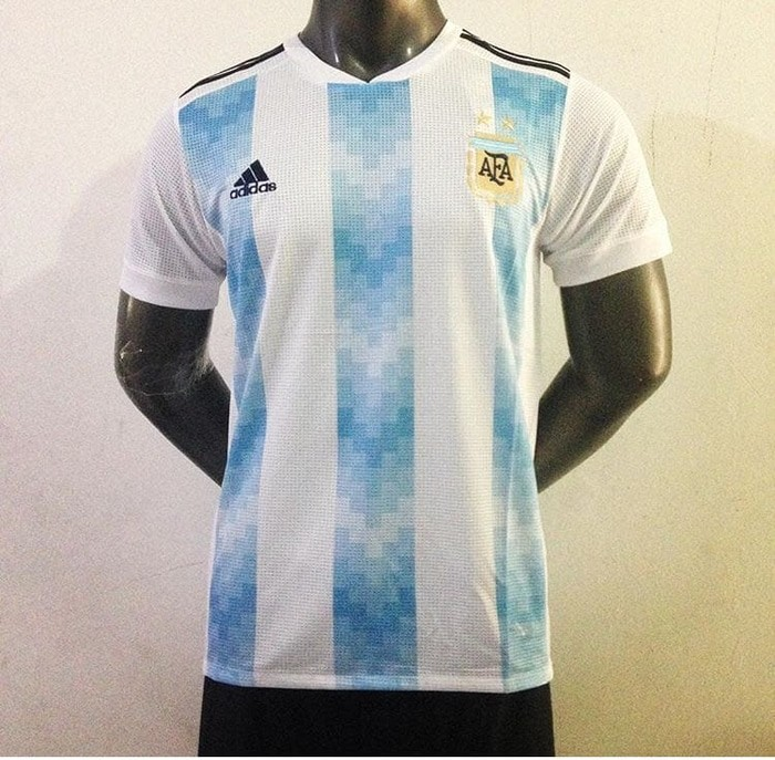 jual Jersey Argentina Home NEW World Cup 2018 Grade ori - Argentina Home, S