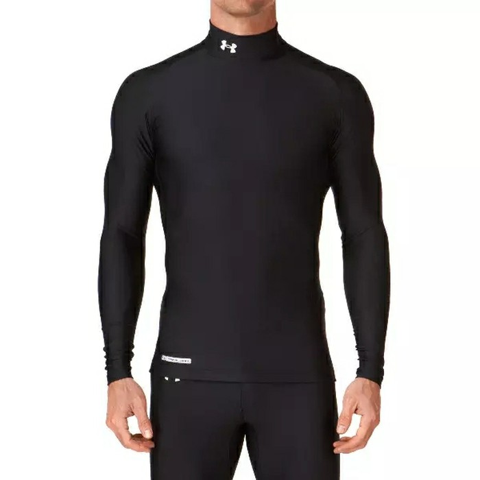jual NEW !! Baselayer / Manset Heat Gear UnderArmour Black