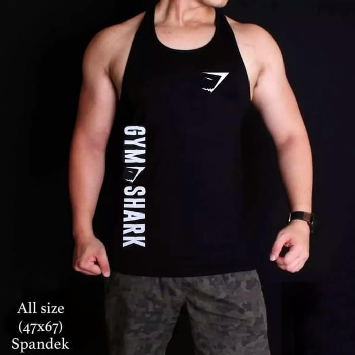 jual baju kaos singlet gym fitness underarmour training olahraga