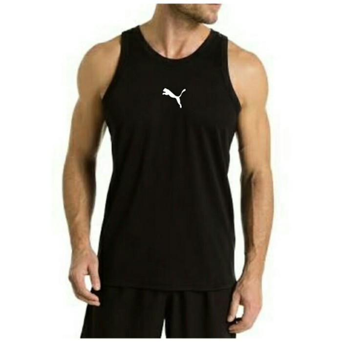 jual Kaos singlet training gym fitness PUMA baju running