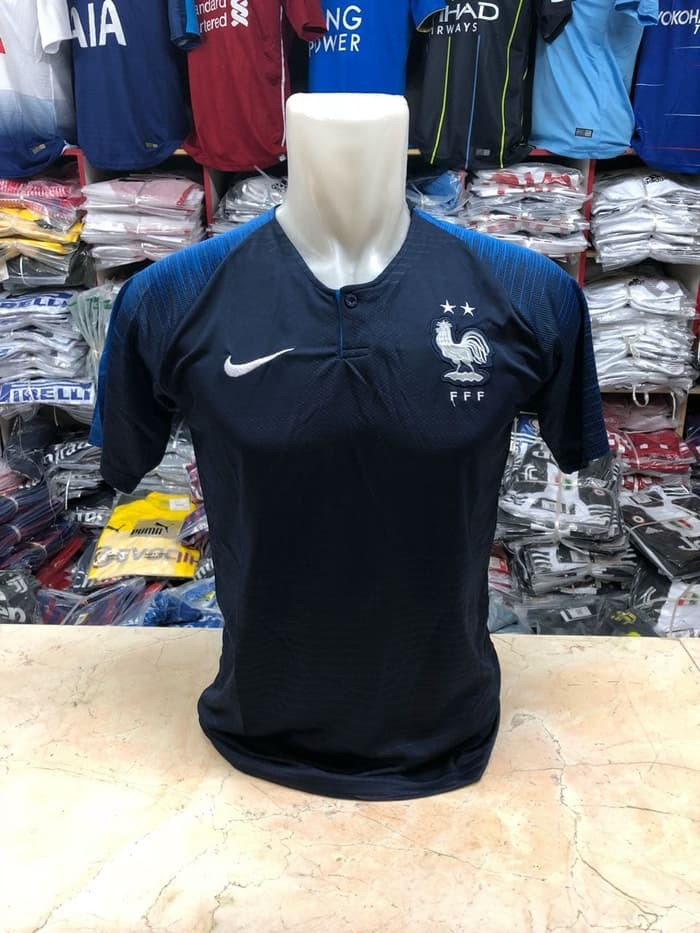 jual Jersey France Home NEW World Cup 2018 Grade ori - France Home, M