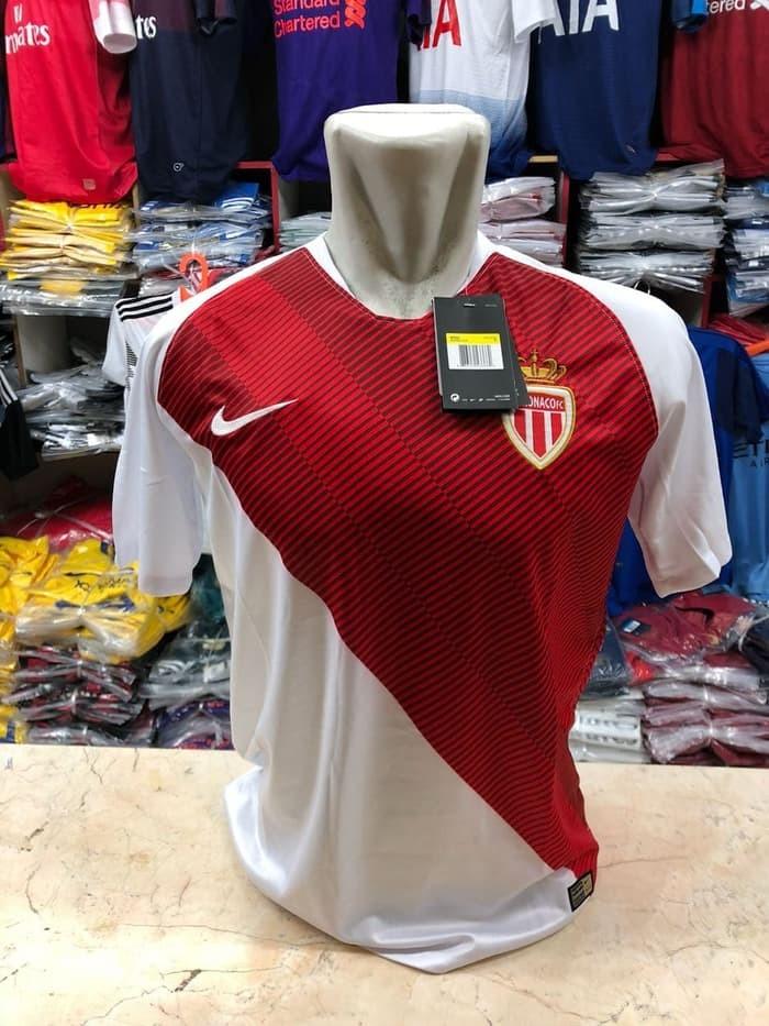 jual Jersey AS Monaco Home BARU NEW 2018/2019 Grade ori