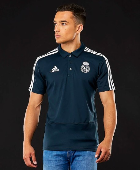jual Polo Shirt Real Madrid New 2018/2019 Official BLACK
