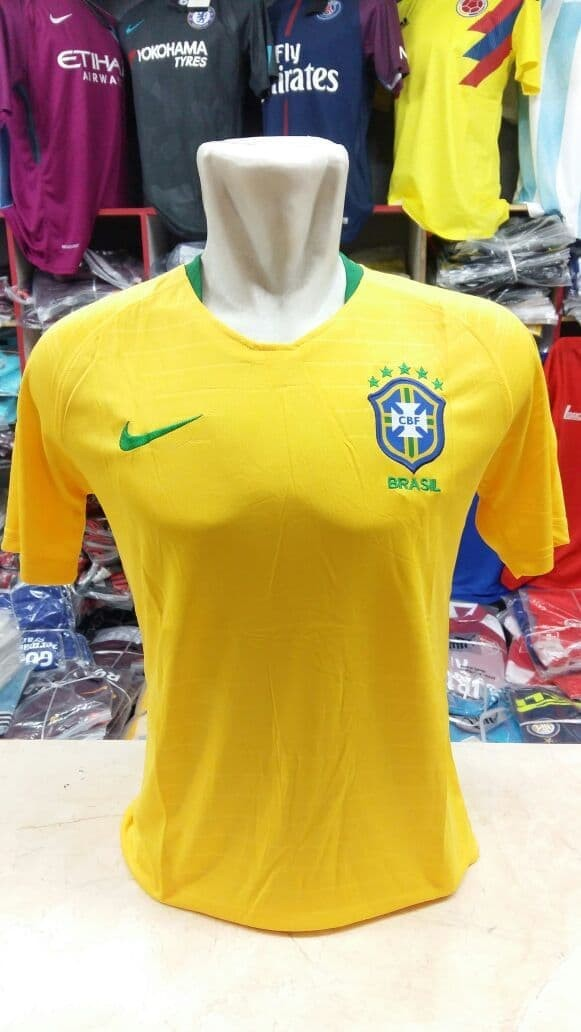 jual Jersey Brazil Home NEW World Cup 2018 Grade ori