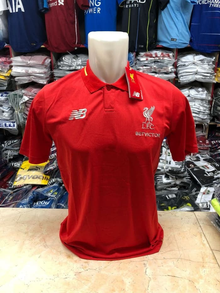 jual Polo Liverpool New 2018/2019 Official Red