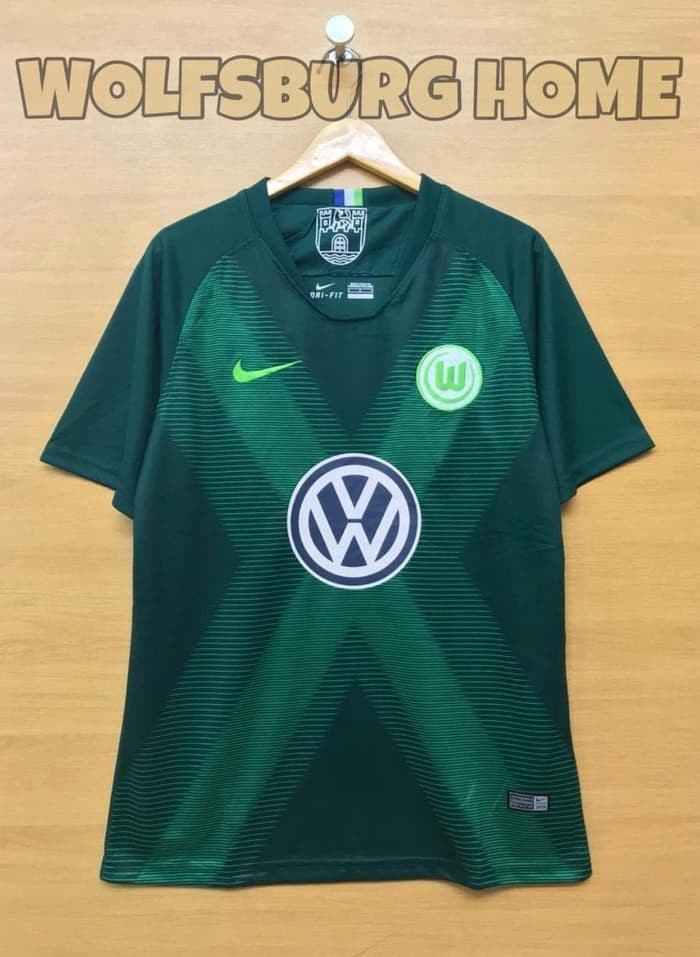 jual Jersey Wolfsburg Home BARU NEW 2018/2019 Grade ori