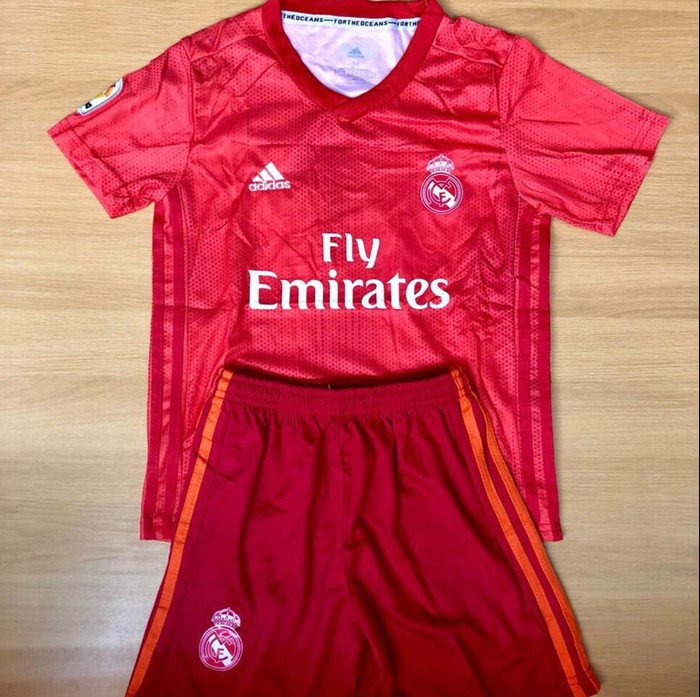 jual Jersey Kids Madrid 3rd BARU 2018/19 Grade ori official