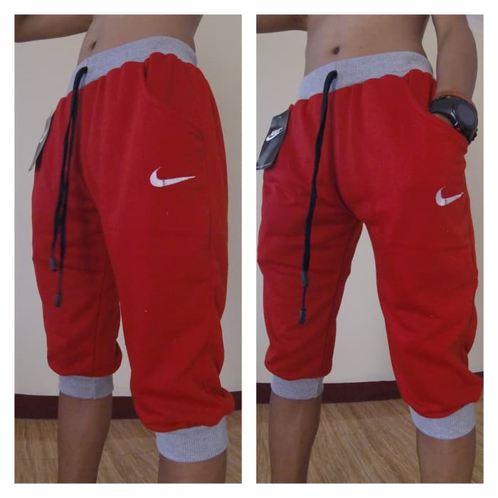 jual Celana Jogger Pants Nike Fc 3/4 Bahan Bebytery