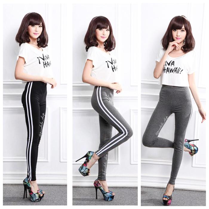 jual Mia 2 Stripe Leggings