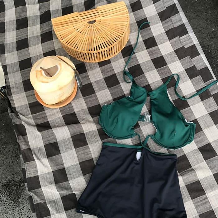 jual LISA MONOKINI Swimsuit Swimwear Baju Renang   Lingerie Impor Bra