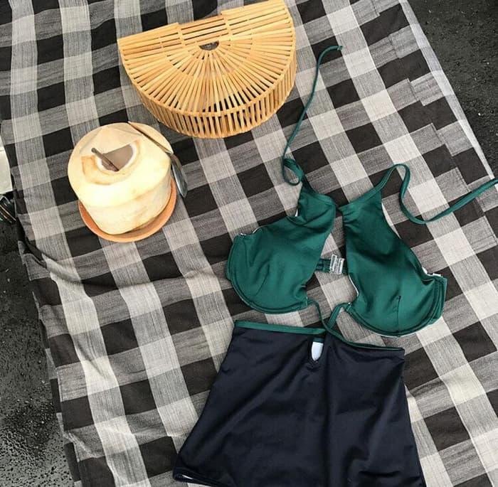 jual ARIANA Bikini Set Baju Renang   Swimwear Murah Bra Monokini Busa