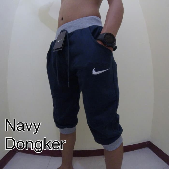 jual Celana Jogger Nike Fc 3/4 Biru Dongker Joger Pants