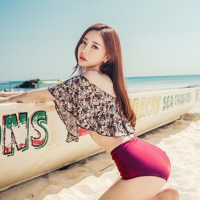 jual Bikini Set Sabrina Swimwear Baju Renang   Celana     Busa - BIKINI SET, M