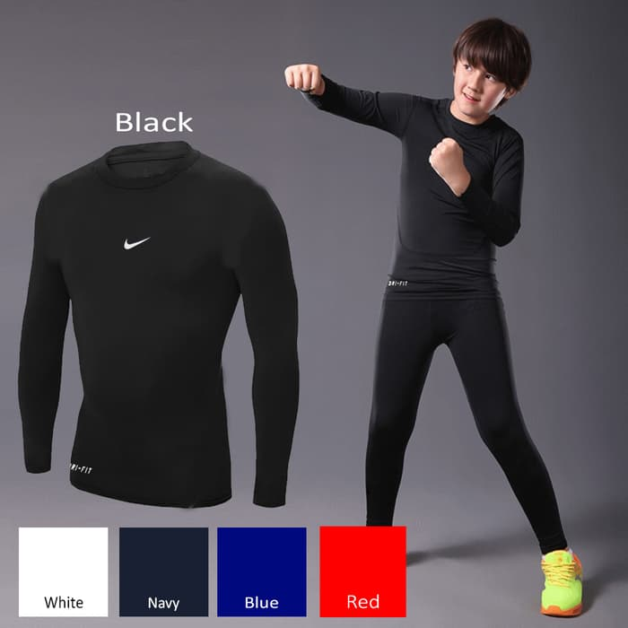 jual NEW !! Kids Baselayer/Manset Anak Nike All Colour